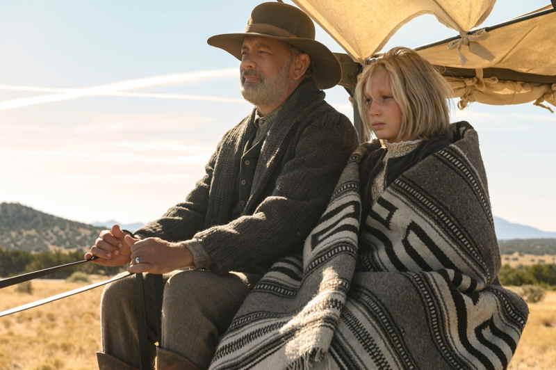 Notizie dal mondo - Tom Hanks e Helena Zengel