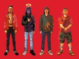 Slait, Tha Supreme, Low Kidd e Young Miles