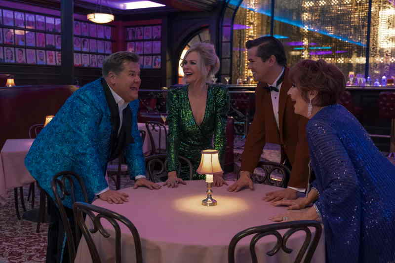 The Prom - James Corden, Nicole Kidman, Andrew Rannells e Meryl Streep