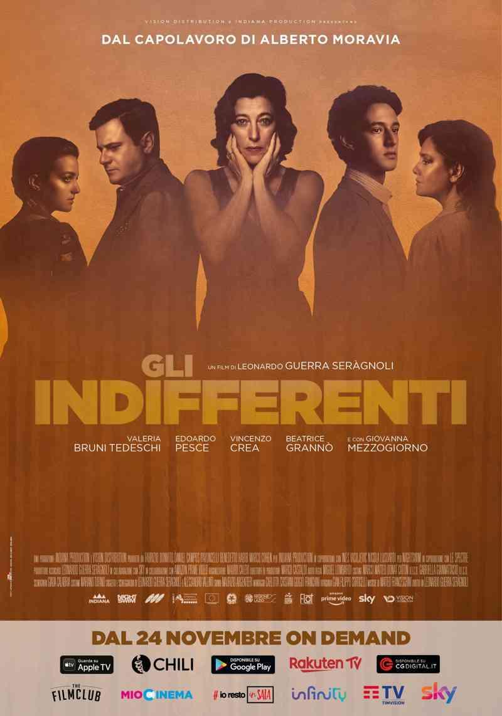 Gli indifferenti - poster