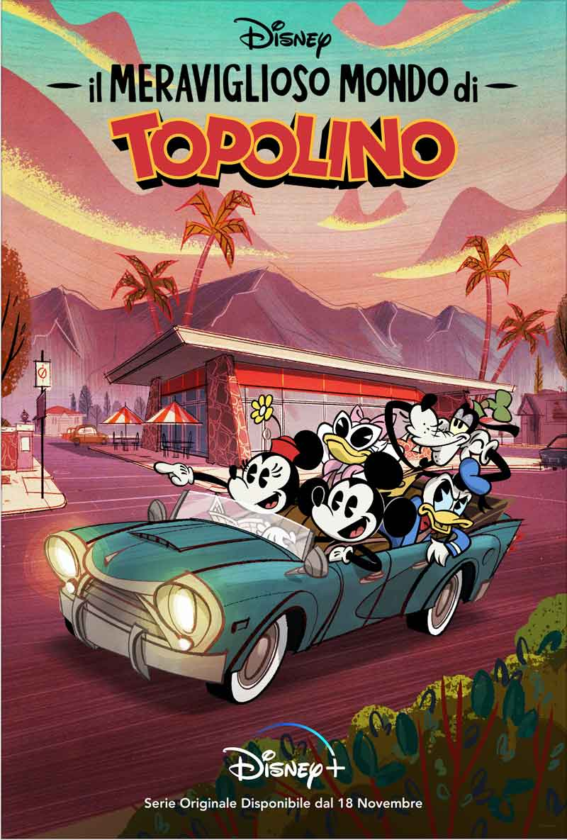 Il meraviglioso mondo di Topolino: la Key Art