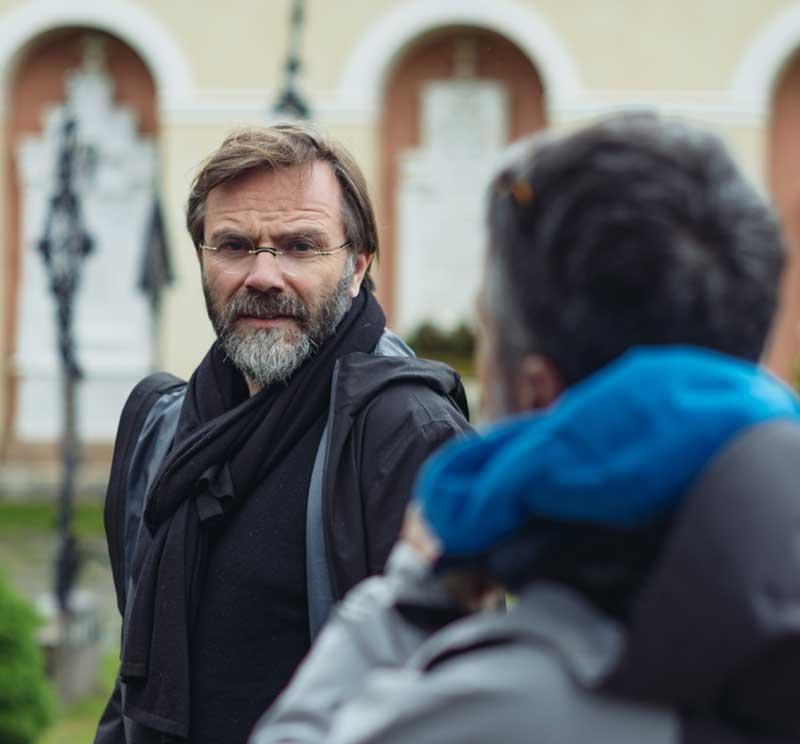 Luca Ribuoli, regista di Vite in fuga