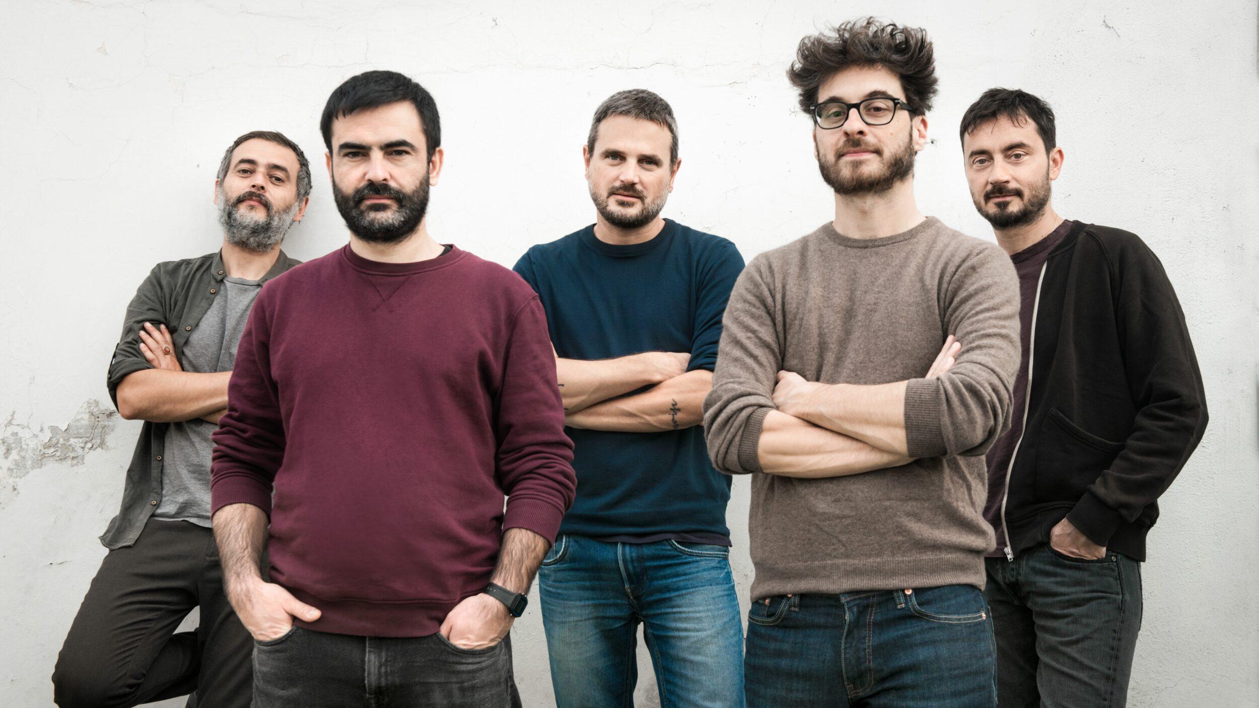 Mokadelic_Alberto Broccatelli, Cristian Marras, Maurizio Mazzenga, Alessio Mecozzi, Luca Novelli_credit Giulia Natalia Comito