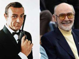 Sean Connery prima e dopo