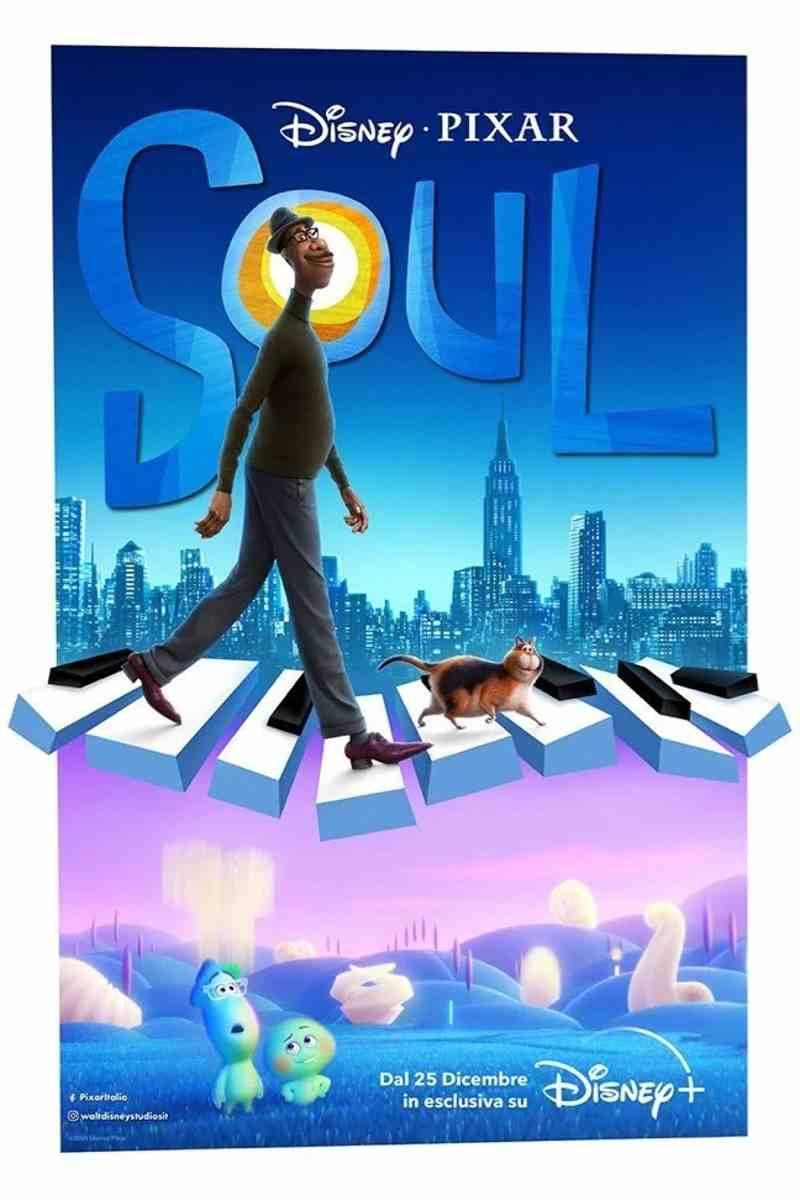Soul - Nuovo poster Disney+