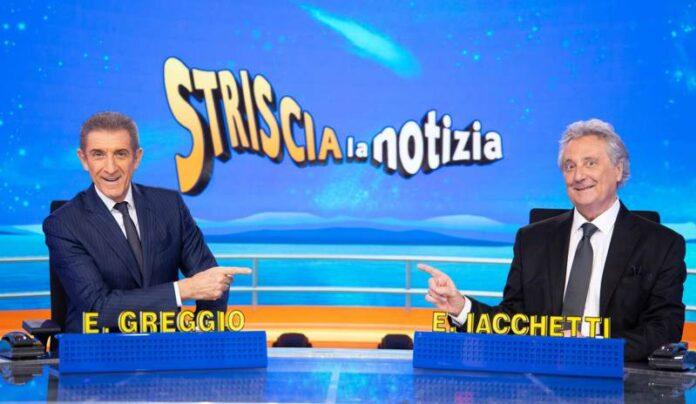 Striscia la notizia - Ezio Greggio ed Enzo Iacchetti
