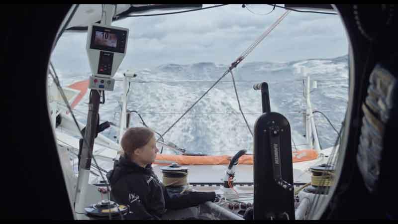 2019: Greta Thunberg raggiunge l'ONU a New York attraversando l'Oceano Atlantico in barca a vela