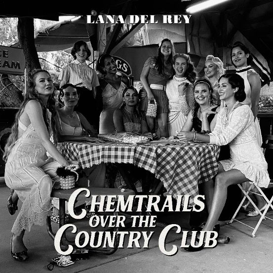 Lana Del Rey - CHEMTRAILS OVER THE COUNTRY CLUB_Album cover_bassa