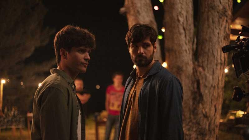 Weekend: Alessio Lapice e Filippo Scicchitano in una scena del film