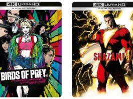 Shazam! e Birds of Prey: dall'11 febbraio arrivano le Comic Art Steelbook 4K Edition