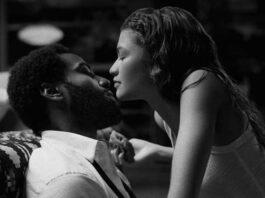 "Zendaya e John David Washington in ""Malcolm & Marie"""