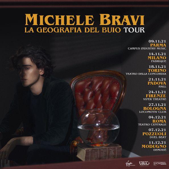 Michele Bravi - La geografia del buio tour