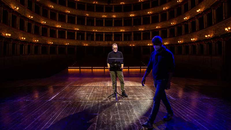 Valerio Mastandrea al Teatro Argentina ©photo Paolo Modugno