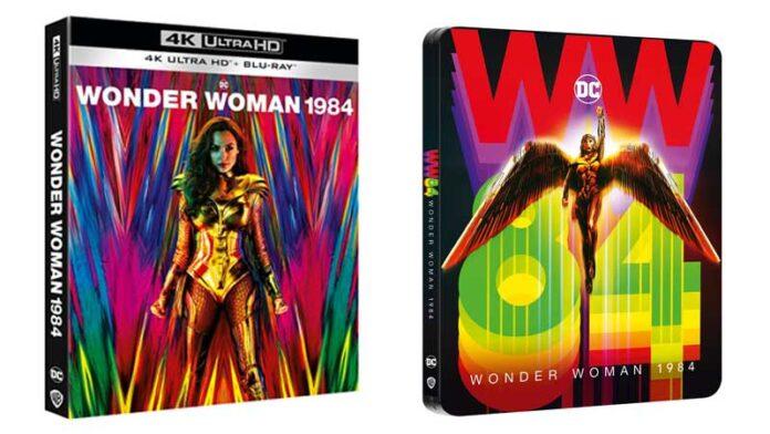Wonder Woman 1984 in DVD, Blu-Ray, 4K e Steelbook 4K dal 12 marzo