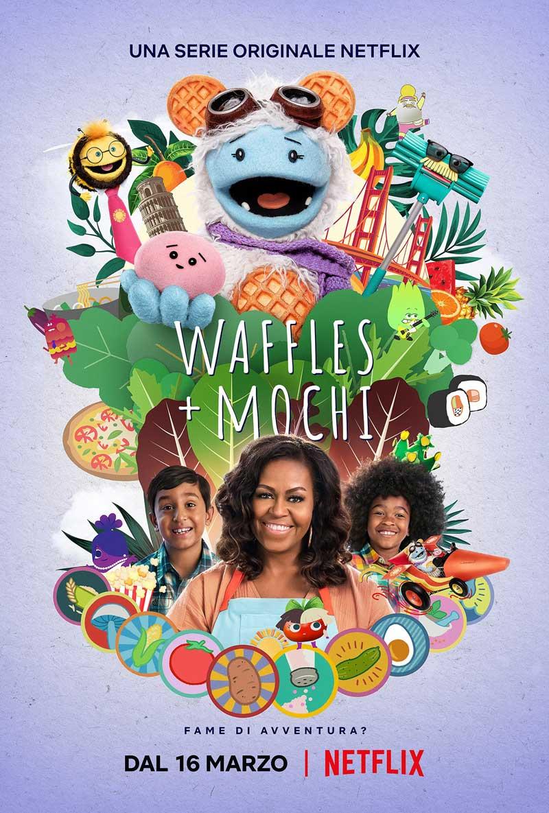 Waffles + Mochi arriva su Netflix