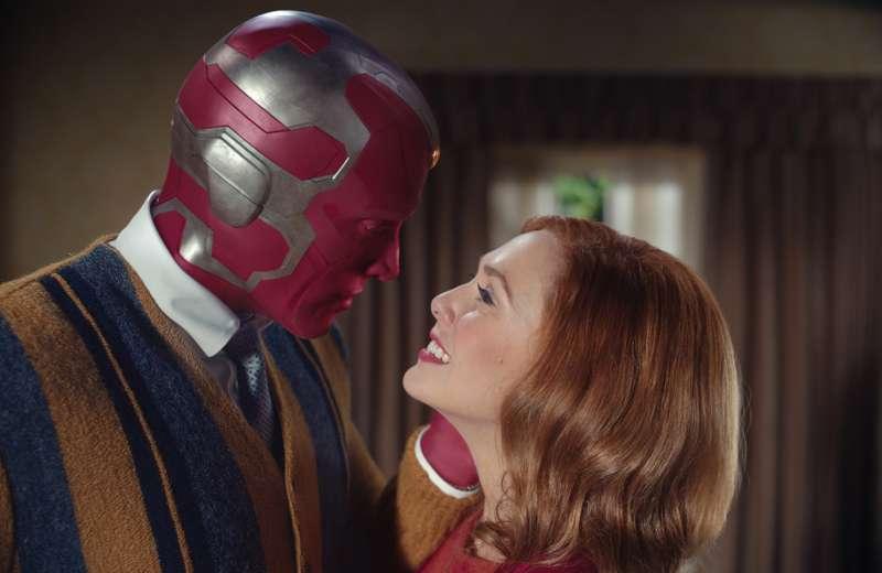 WandaVision - Paul Bettany ed Elizabeth Olsen