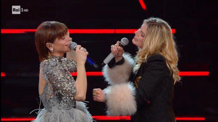 Sanremo 2021 - Emma Marrone e Alessandra Amoroso