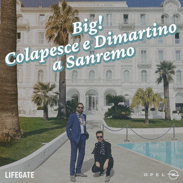 Big! Colapesce e Dimartino a Sanremo