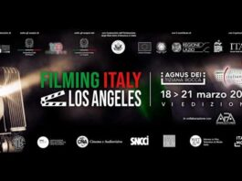 Filming Italy - Los Angeles 2021 - banner