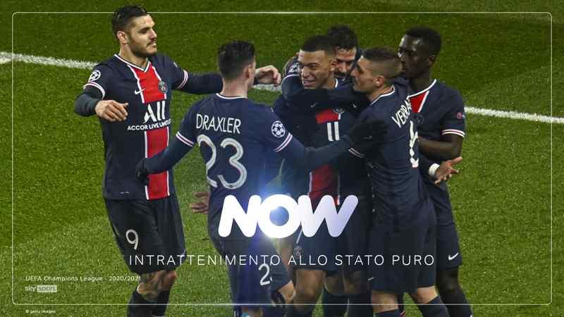 NOW - UEFA Champions League