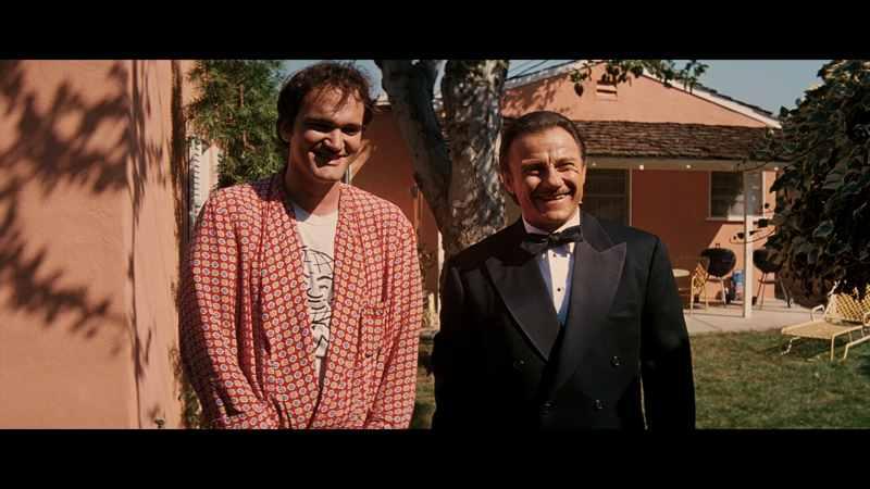 QT8 - Quentin Tarantino e Harvey Keitel in Pulp Fiction