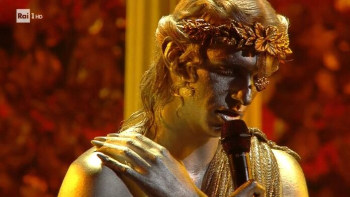 Sanremo 2021 - Achille Lauro - Terza serata
