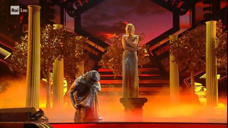 Sanremo 2021 - Achille Lauro ed Emma