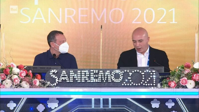 Sanremo 2021 - Amadeus - Conferenza fine Festival