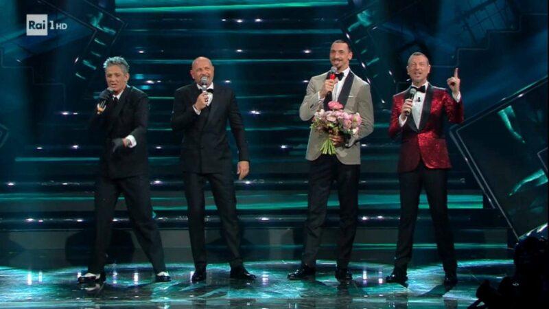 Sanremo 2021 - Amadeus, Fiorello, Ibra e Mihajlovic