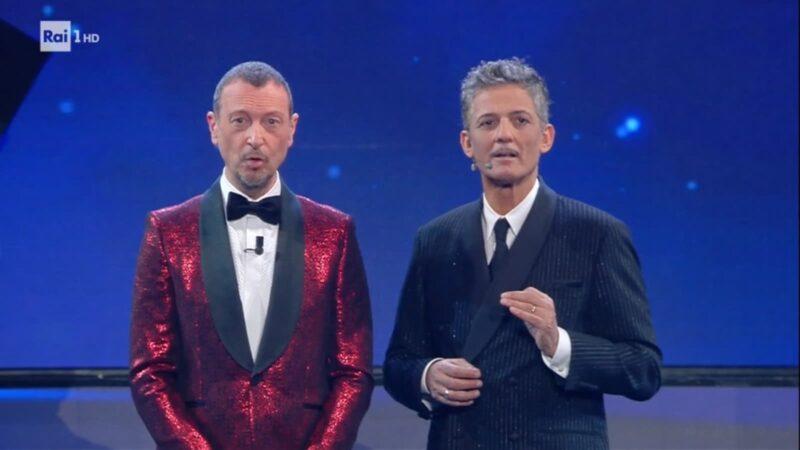 Sanremo 2021 - Amadeus e Fiorello - Terza serata