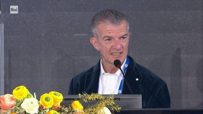 Sanremo 2021 - Claudio Fasulo - Conferenza terza serata