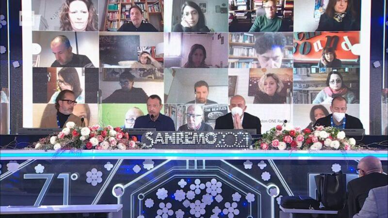 Sanremo 2021 - Conferenza fine Festival