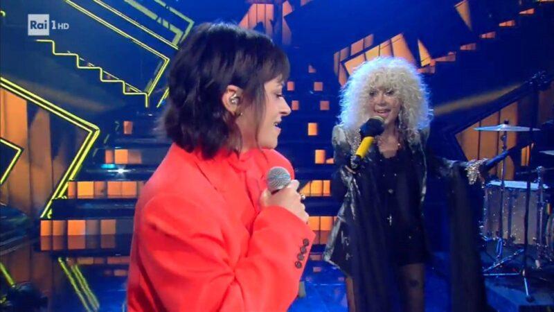 Sanremo 2021 - La rappresentante di lista e Donatella Rettore
