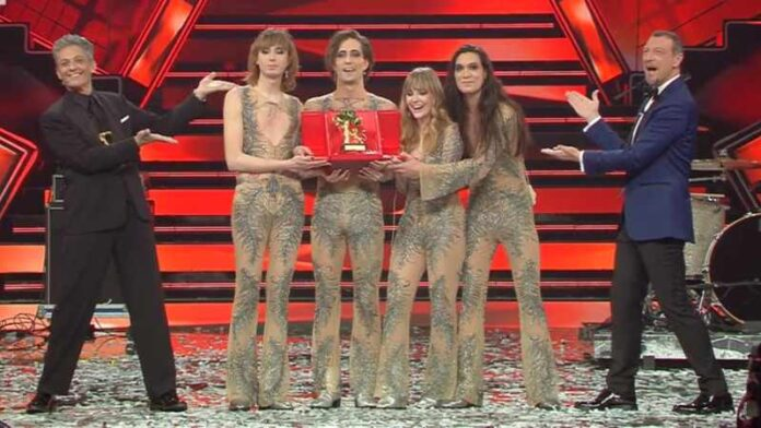 Sanremo 2021 - Maneskin vincono Festival