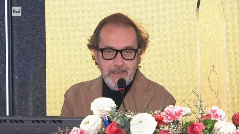 Sanremo 2021 - Stefano Coletta - Conferenza fine Festival