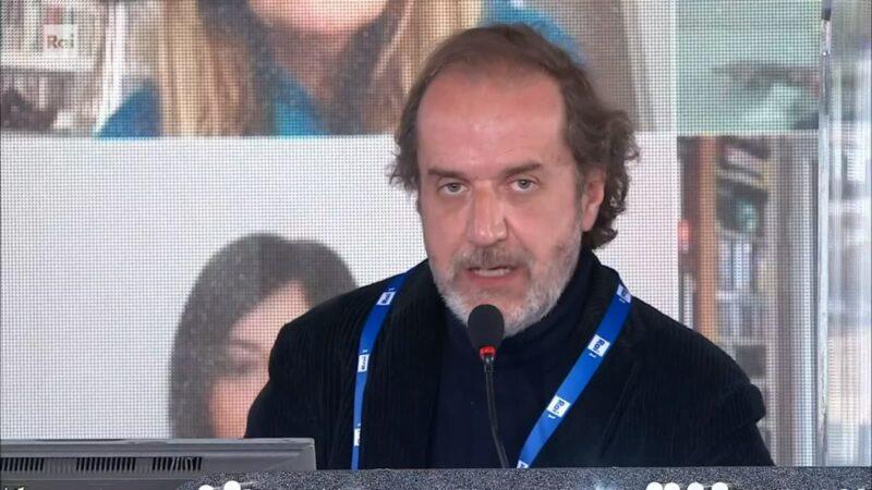 Sanremo 2021 - Stefano Coletta - Conferenza terza serata
