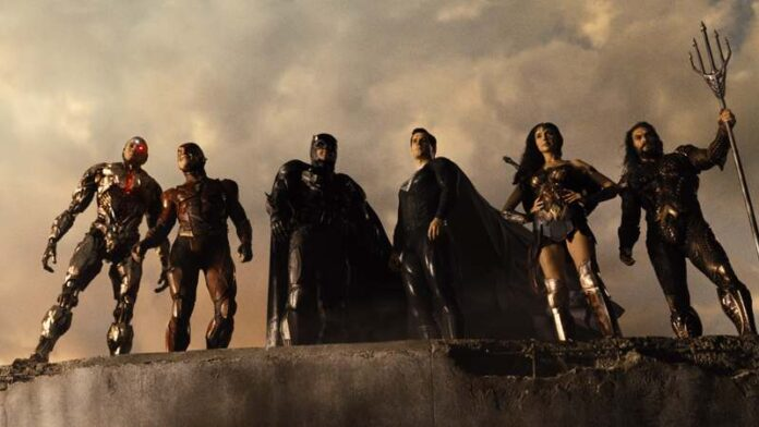 Zack Snyder's Justice League - cast