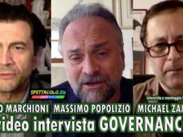 Governance - video intervista Vinicio Marchioni, Massimo Popolizio, Michael Zampino