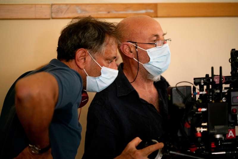 La compagnia del cigno 2 - Ivan Cotroneo e Luca Bigazzi sul set (foto Sara Petraglia)