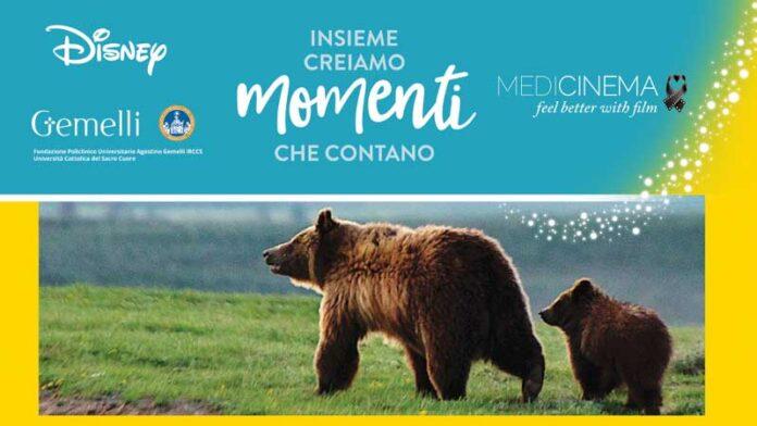 National Geographiccon MediCinema Italia Onlus arrivaalPoliclinicoGemelliper sostenere La Giornata Mondiale della Terra