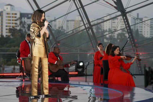 Oscar 2021 - Laura Pausini e Dianne Warren performance 10
