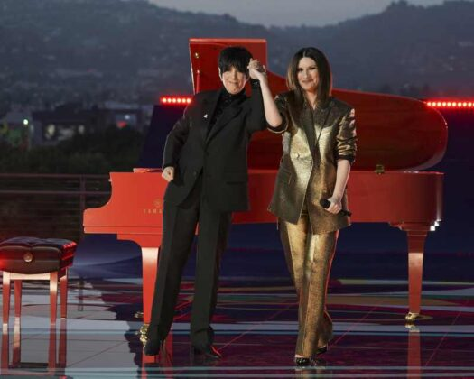 Oscar 2021 - Laura Pausini e Dianne Warren performance 11