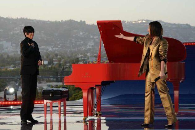 Oscar 2021 - Laura Pausini e Dianne Warren performance 5