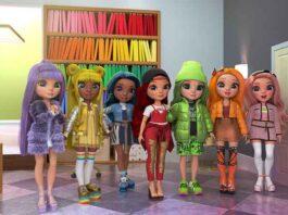 Rainbow High, ispirata all'omonima linea di fashion doll prodotta da MGA Entertainment