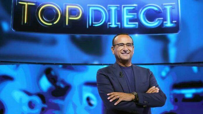 Top Dieci 2021 - Carlo Conti