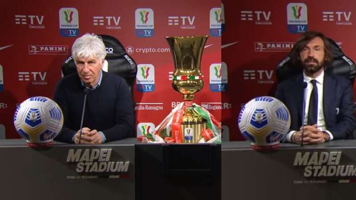 Atalanta-Juventus Finale Coppa Italia 2021 lancio