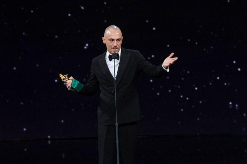 David di Donatello 2021 - Elio Germano (foto Luca Dammicco per Accademia del Cinema Italiano)