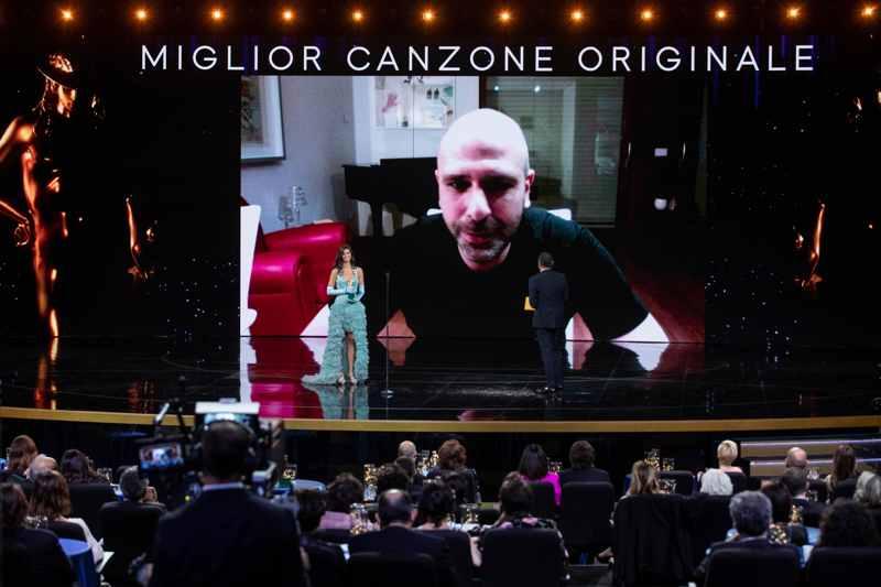 David di Donatello 2021 - Luca Medici - Checco Zalone (foto Luca Dammicco per Accademia del Cinema Italiano)