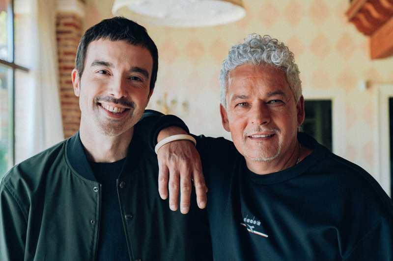 Diodato e Roberto Baggio