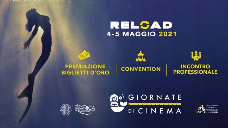 Giornate Professionali di Cinema Reload 2021 - banner